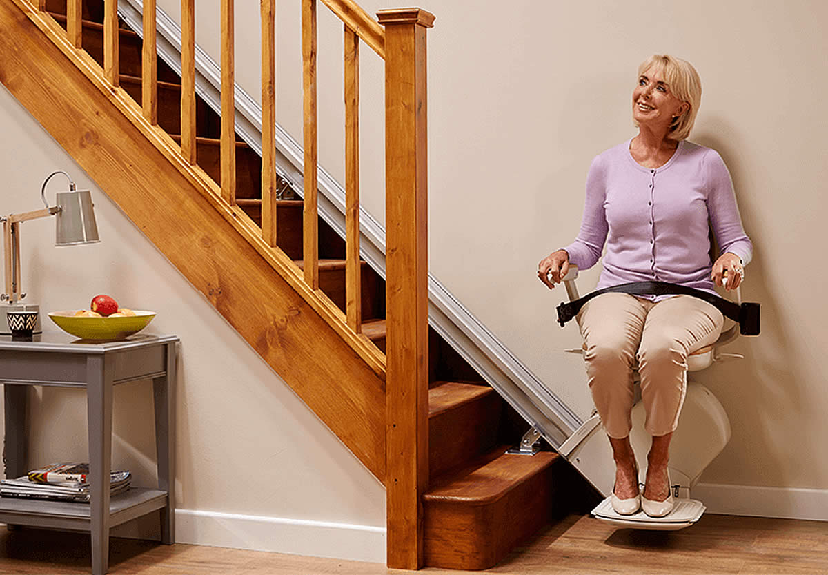 Straight Stairlifts. The Acorn 130 Stairlift