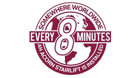 Acorn Stairlift is installed every 8 minutes
