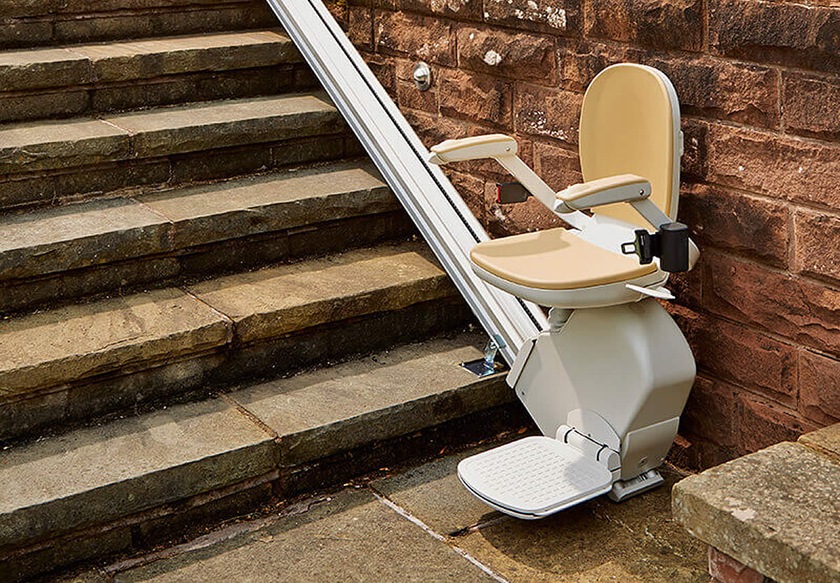 Outdoor Stairlifts: Costs U0026 Installation