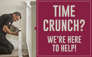 Are You in a Time Crunch? We are Here to Help!