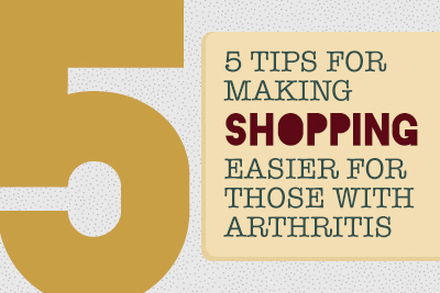 Tips to Make Shopping Easier with Arthritic Pain